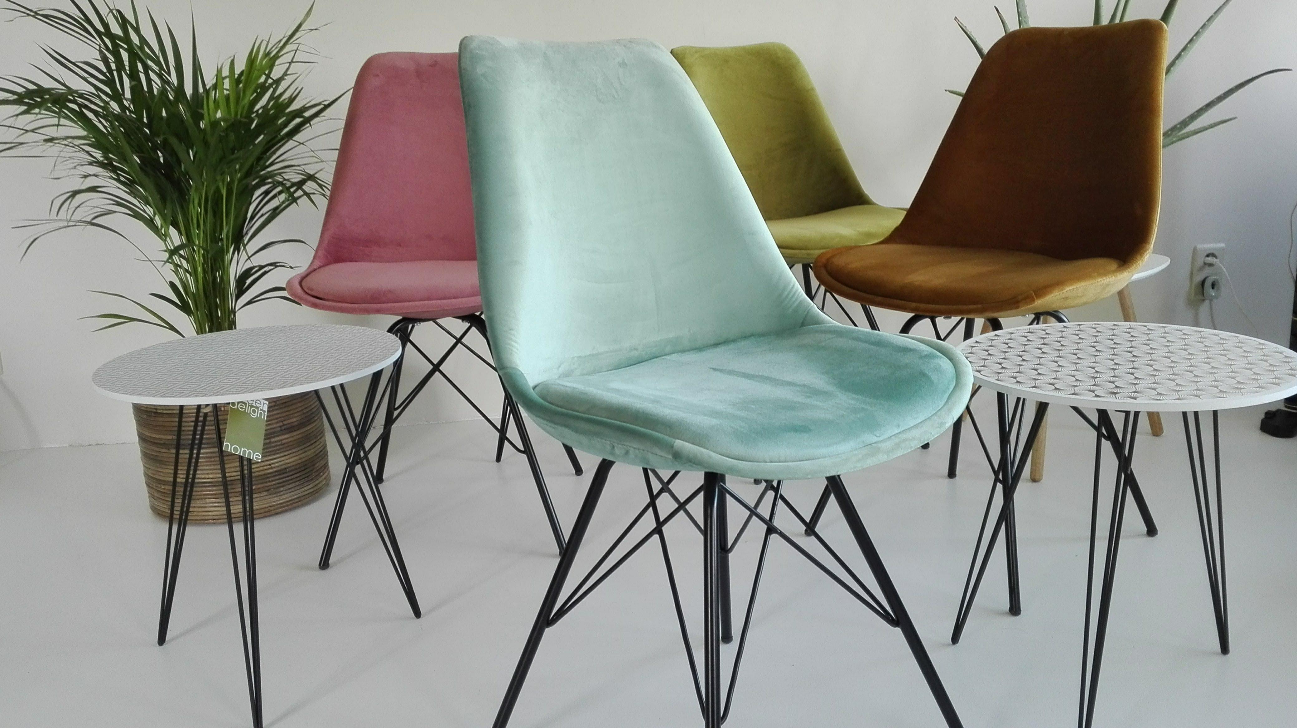 stoelen Velvet