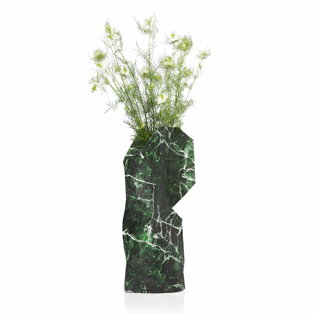 paper-vase-cover-marble-green
