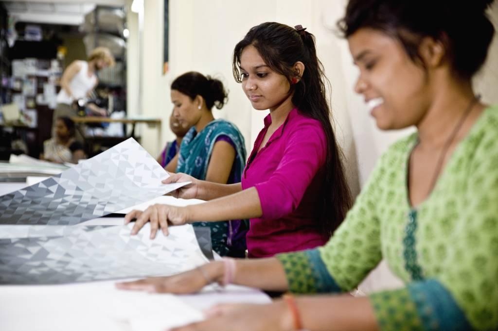 vrouwen van de Pardeshi-gemeenschap | Mumbai, India