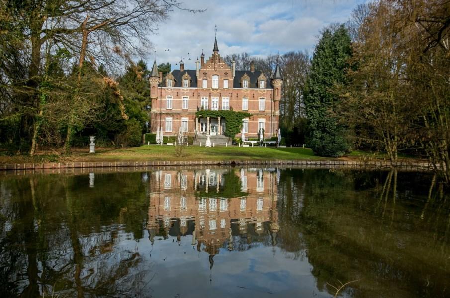 kasteel van Meerlaer vijver