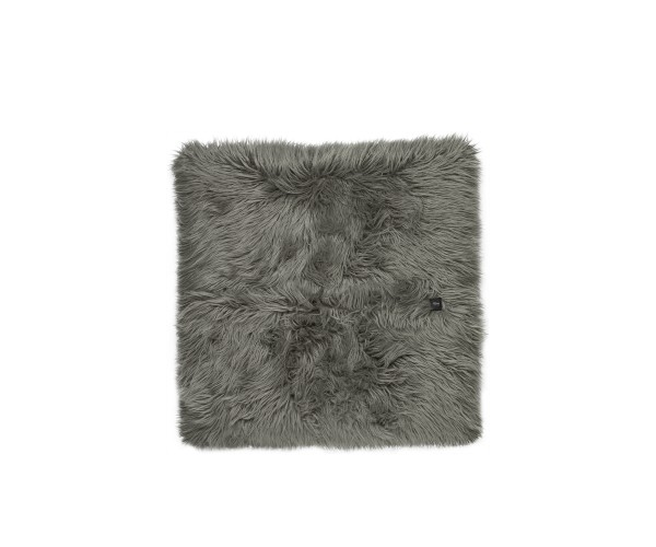jumbo pillow flokati grey