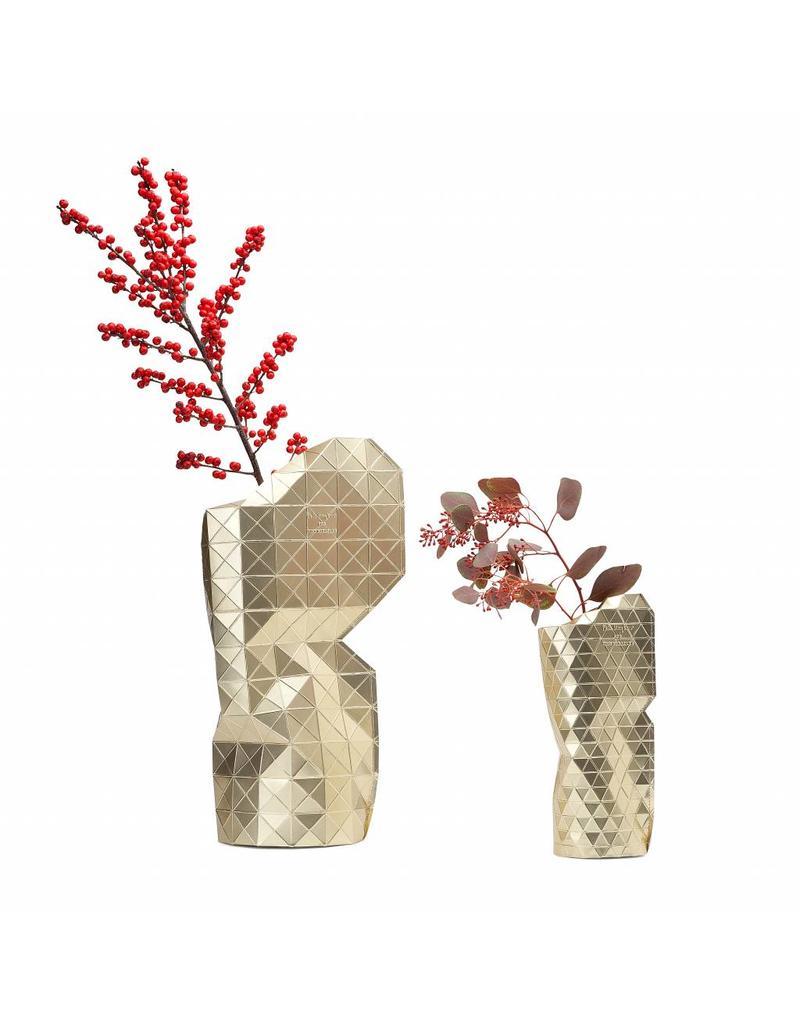 paper vase cover-GOLD