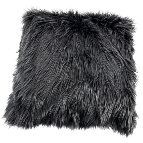 kussen faux fur